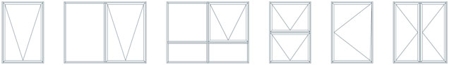 Awning Windows Configurations