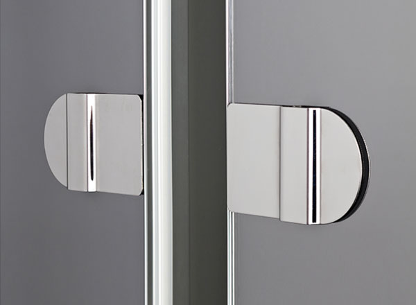 Semi Frameless Panel Mirror Handles