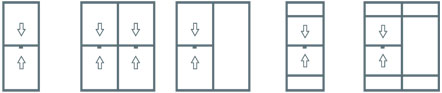 Double Hung Window Configurations