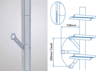 Louvre Windows - Ring Pull Handle