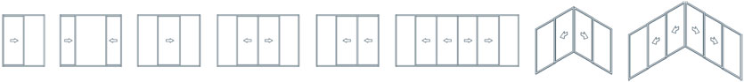Sliding Doors Configurations