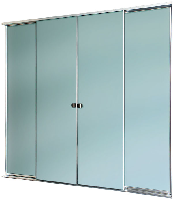 Wardrobe with Opaque Glass